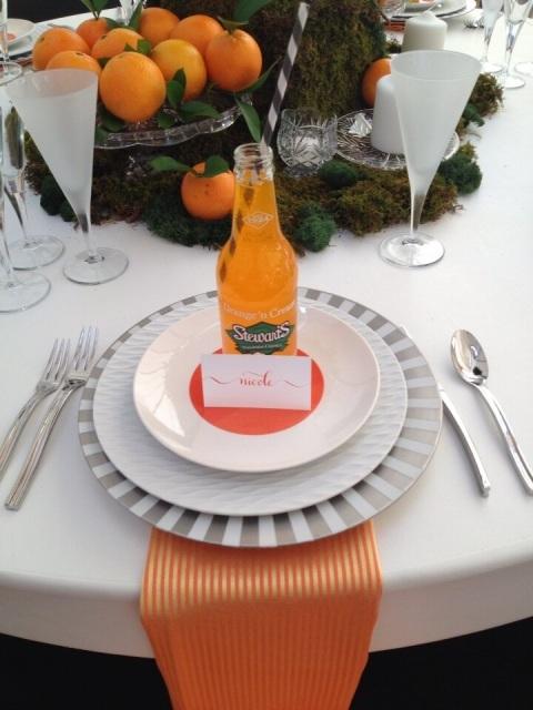 Orange setting